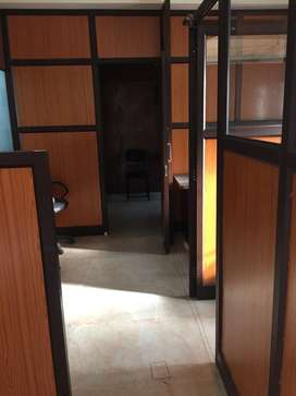 This is 450sqft fully furnishd office for rent in subhash road