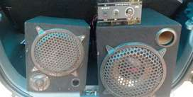 Subwoofer and amplifier