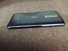 Nokia 8 Blue colour excellent condition