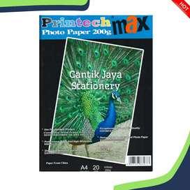 Kertas foto Printech A4 200gr glossy
