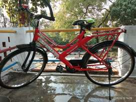 Full size cycle with extremely smooth running comfort