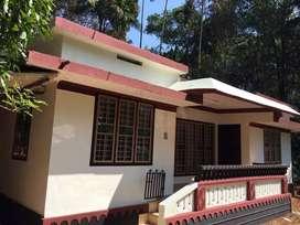 Nice house for sale with water frontage near banasura dam wayanad