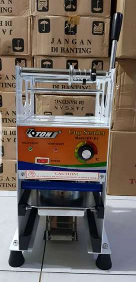 Cup sealer Merk Eton oz22 (Thai Tea dll)+plastik Roll