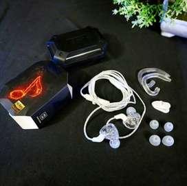 Headset QKZ-AK6 PRO Original By Zenith Clear White Transparan