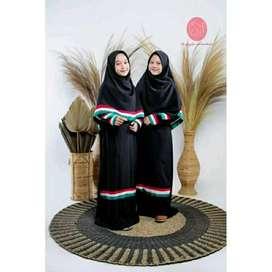 Cod√√ set gamis palestina kekinian