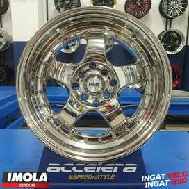 Veleg Mobil Celong Chrome Ring 16 HSR BRISKET R16x75 Pcd 8x100-114,3