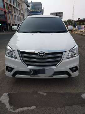 Toyota Innova G Luxury Manual 2015 putih