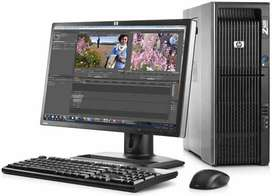 HP Z600 Workstation for Film Editors and Graphics Design