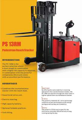 Importir Stacker Counter Balance NOBLELIFT Promo NORMAL Reach Stacker
