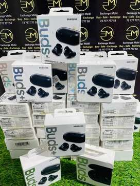 Samsung Buds plus — Only Seal Open — With Warranty — gst bill