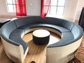 Super Soft Round Sofa