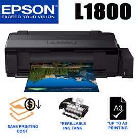 Kredit Printer Epson L1800 A3+ 6 Tinta Proses Mudah ACC 3 Menit