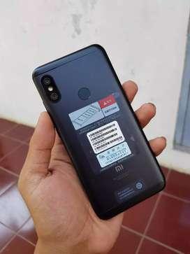 Xiaomi redmi 6 pro black komplit normal jaya