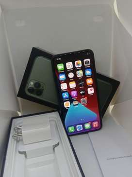 I PHONE 11 PRO MAX 64GB MIDNIGHT GREEN COLOUR BRAND NEW WARRANTY AVAIL