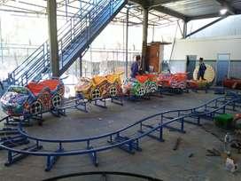 kereta mini coaster rel naik turun odong2 pancingan L05