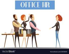 Required HR (Male/Female) for our office in Brodipet,Guntur