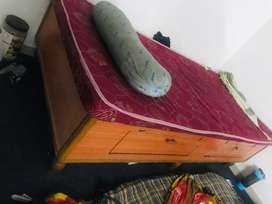 Single bed with a good condition