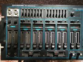 Pyramid audio mixer