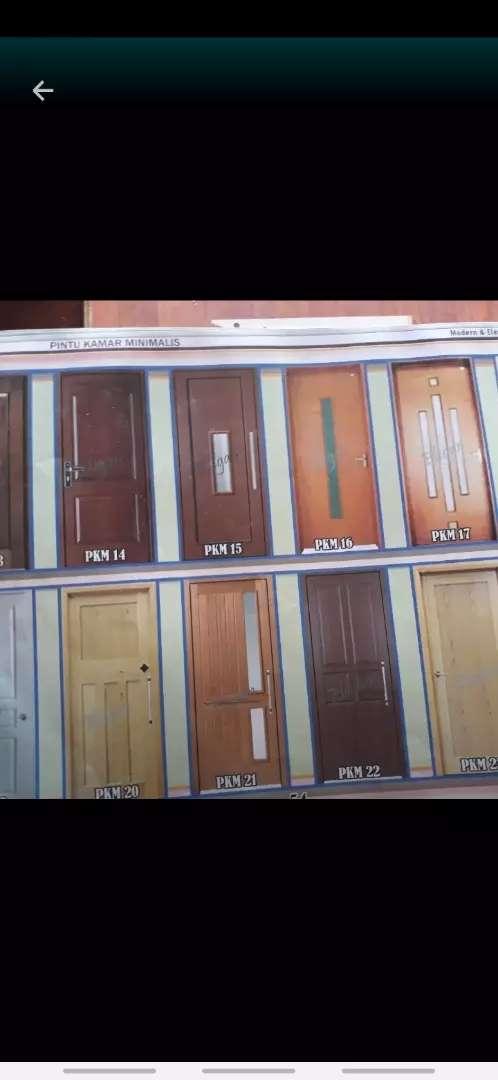 Daun pintu kamar + kusen