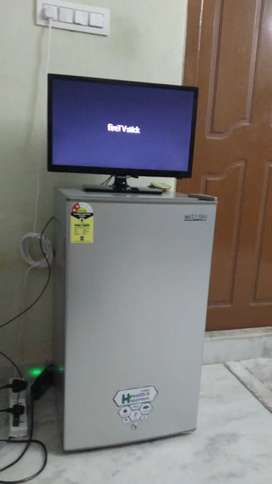 TV with Fridge at sale offer