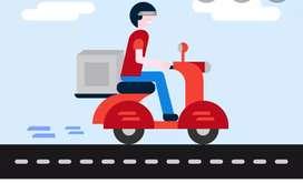 Urgent requirement delivery boy Rajkot all location