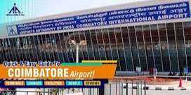 Coimbatore International Airport Hiring Air Ticketing /Airport Managem