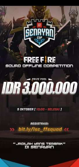 Jasa joki rank free fire