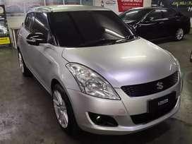 Suzuki Swift GX Automatic Tahun 2014 Silver Like New