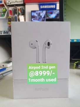 Apple Airpod 2nd gen with Charging case only 2month used