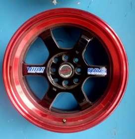 Velg racing belang bisa buat mobil Avanza splash R16-7/8 h8-100/114.3