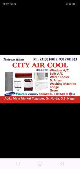 All types of fridge and all types of AC repairing service