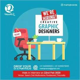 Creative Graphic Designer Male/Female