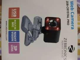 Zebronics Web Camera