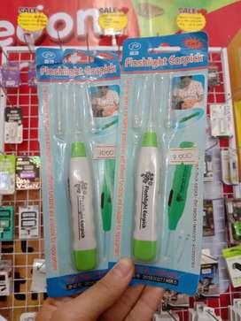 Flashlight Earpick/ korek kuping (Haru Cell)