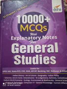 Upsc ,scc civil job preparation books