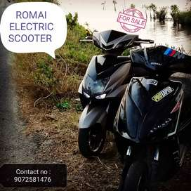 Romai second scooter with new   1 year warranty batterry