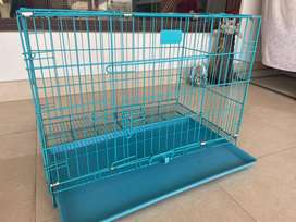 Dog crate with tray - jammu