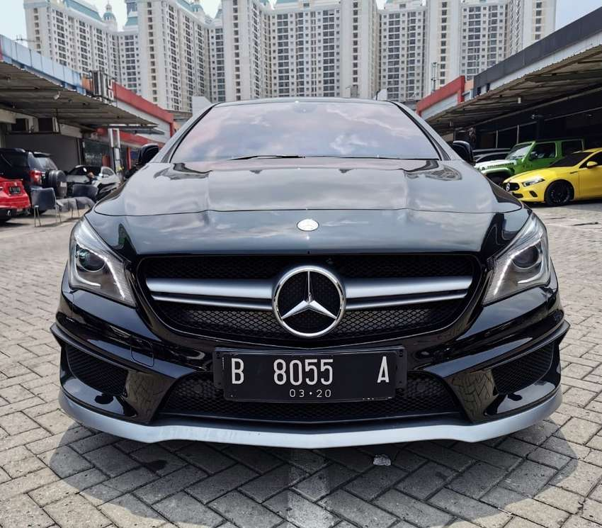 Mercy CLA 45 AMG 2014/2015 KM 10rb ANTIK 0