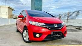 Honda Jazz S NIK.2015 Serv.Record - Merah Merona (CASH n KREDIT SAMA)