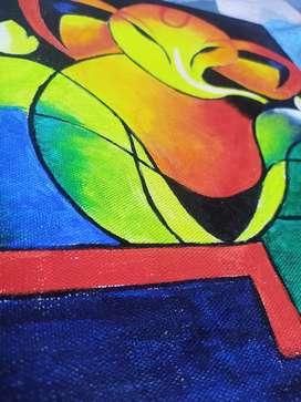 SRI ganesh painting