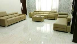 Brand new 10 seater sofa set with center table in light green color