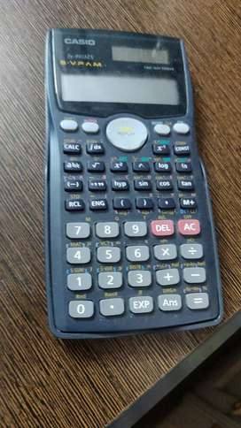 Scientific calculator solar charged