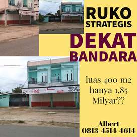 Ruko strategis dekat RSUD dan BANDARA
