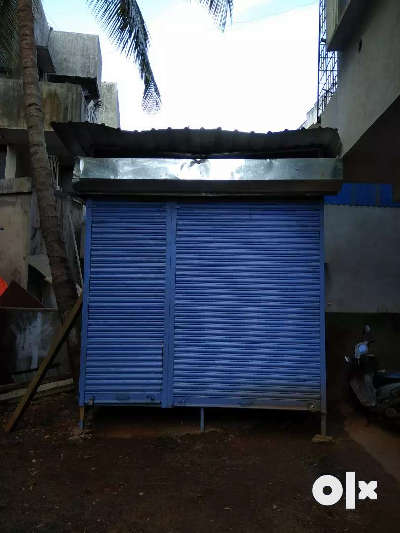Newly built shop, used for multipurpose, had three shelters separately 0