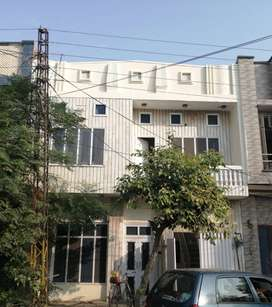 Double story house in commercial area in gulfishan colony fsd