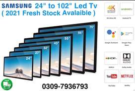 """Samsung 32"""" to 102"""" Led Tv { 2021 Fresh stock avalaible } brand new"""