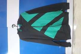 Jaket Hoodie adidas Originals Men EQT Full Zip Black/Green