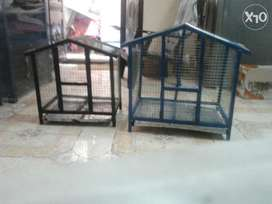 New heavy steel birds cages.home type. Small cage & big cage