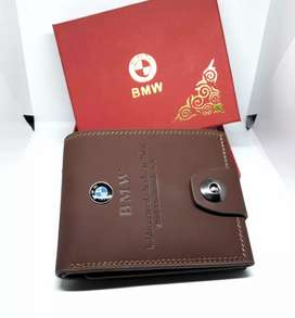 BMW wallet with 3 compartments