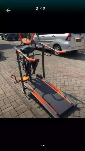 Treadmill manual terlengkap termurah